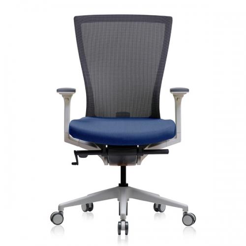 베스툴 RAE110MW 래디우스 화이트 미들백 메쉬 사무용 의자