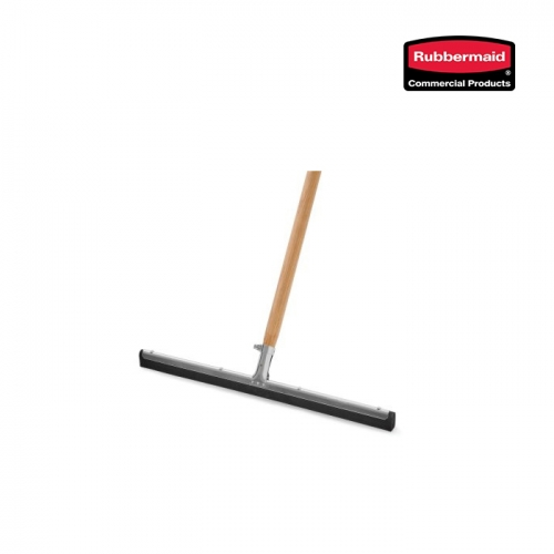 [러버메이드] 바닥 물기제거용 스퀴지 55cm [FG9C2700BLA] +나무봉 [FG635200NAT]
