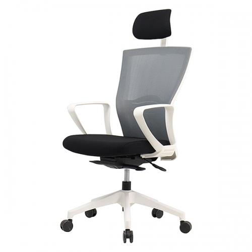 젠틀맨S 흰사출 사무용 의자