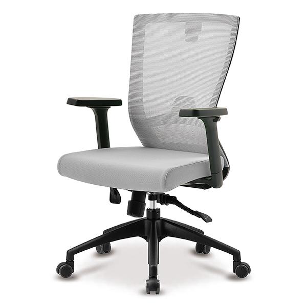 S10 블랙 조절팔 A형 중형 메쉬 사무용 의자