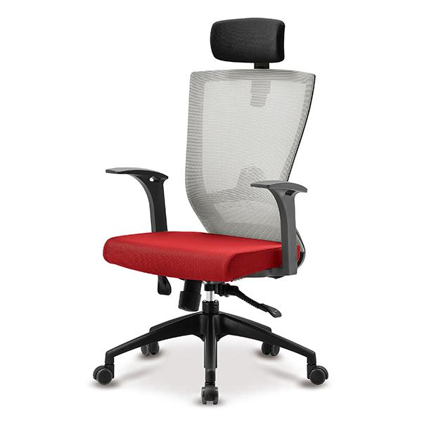 S10 블랙 고정팔 프론형 대형 메쉬 사무용 의자