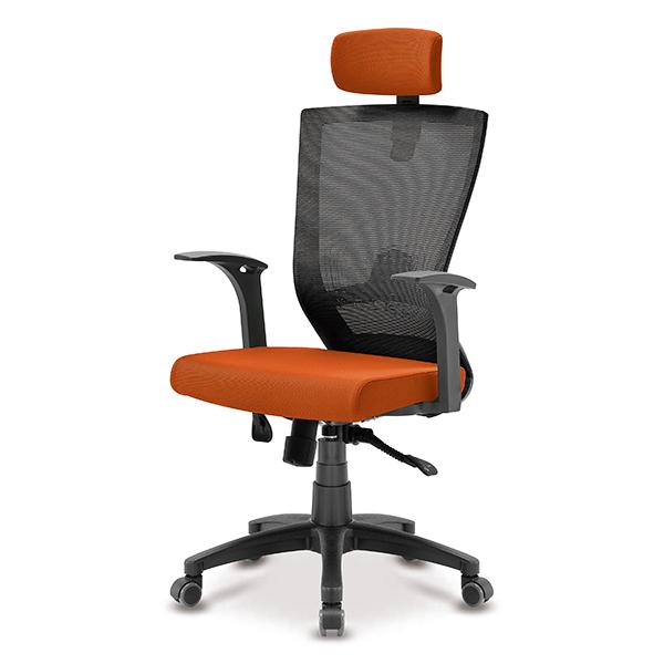 S10 블랙 고정팔 A형 대형 메쉬 사무용 의자
