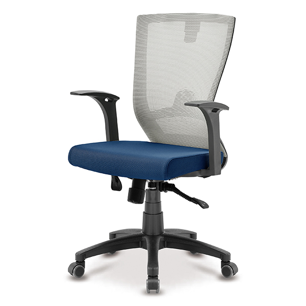 S10 블랙 고정팔 A형 중형 메쉬 사무용 의자