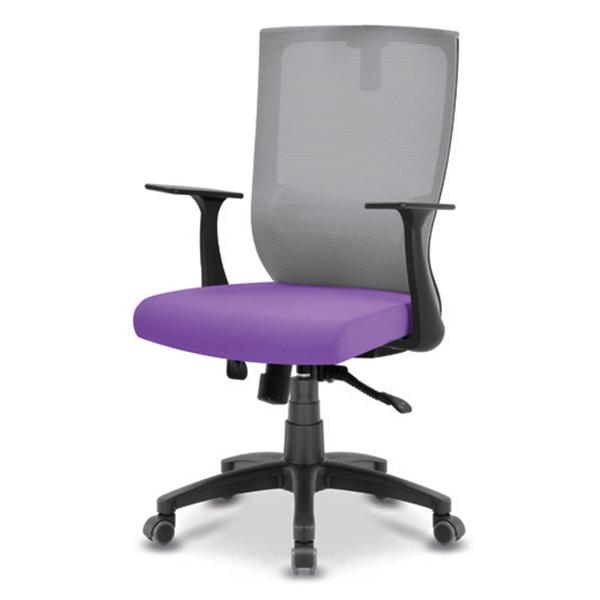 S30 블랙 플럭팔 A형 사출 중형 메쉬 사무용 의자